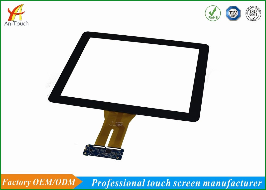 17 Inch USB I2C Kiosk Touch Panel , Projected Capacitive Touch Screen Panel With Driver Free