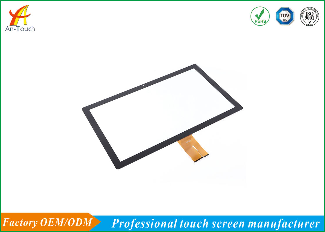 Transparent Flexible Capacitive Touch Screen / OEM 27 Touch Screen Display